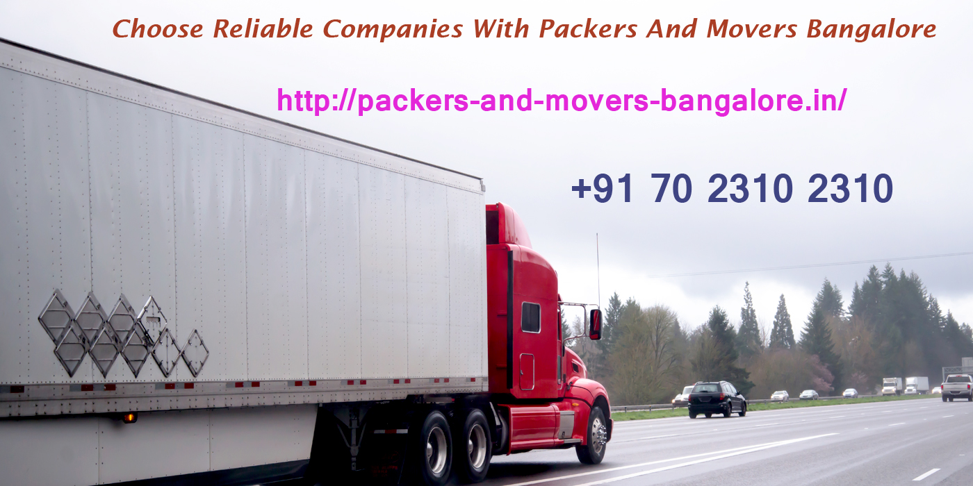 Packers and Movers Bangalore Local Shifting Charges